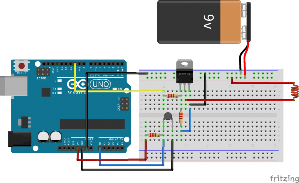 Pid Temperature Control With Arduino Blascarr